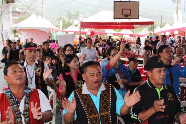 1109部落歡喜慶祝洛神花季開幕活動