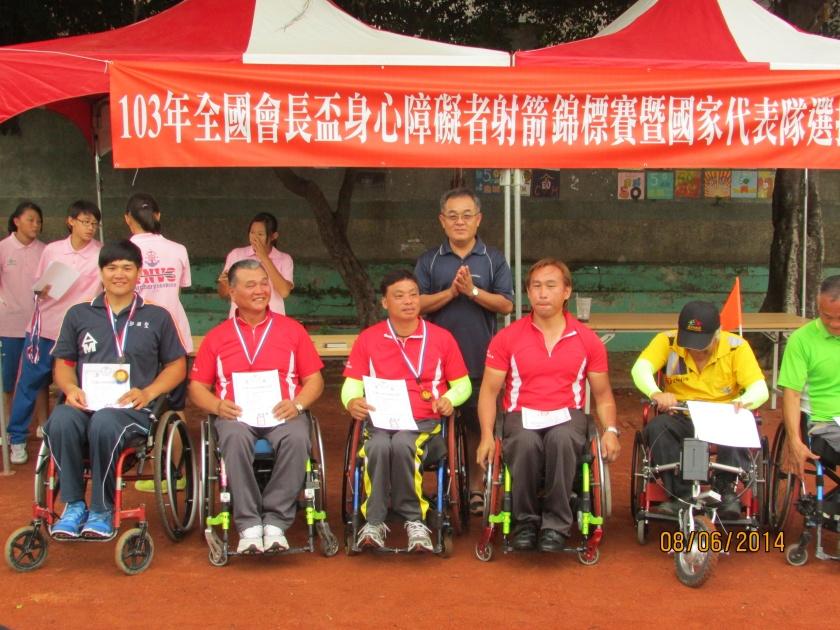 台東輪椅射手參加全國賽獲金牌4