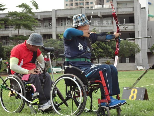 台東輪椅射手參加全國賽獲金牌5
