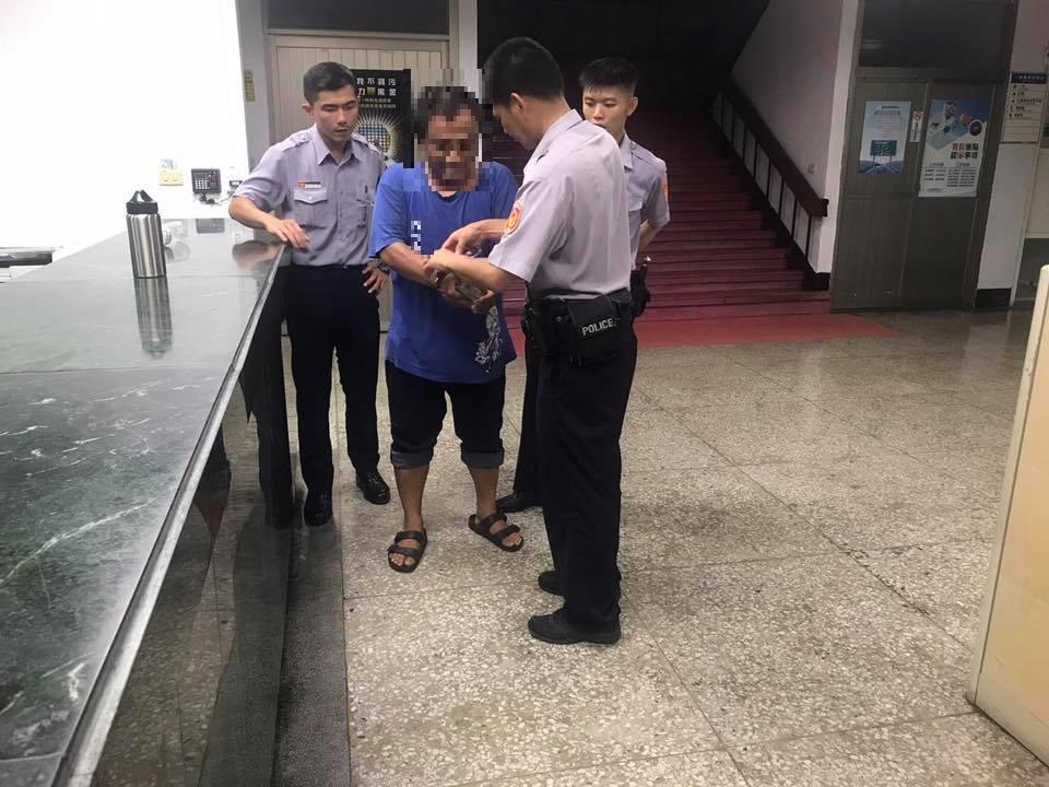 警專實習生逮到通緝犯 「第一次滿緊張」