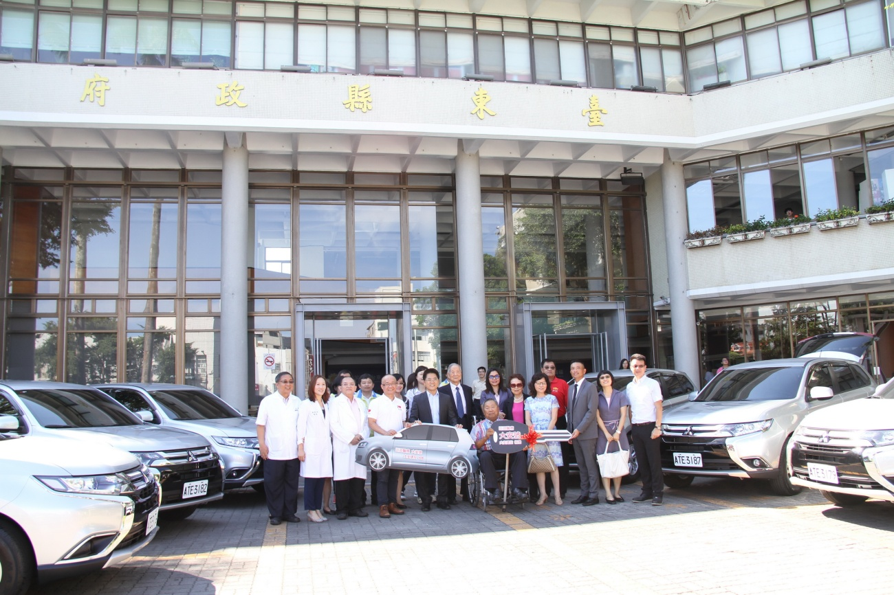 臺中市大安建設公司 送愛到偏鄉 捐贈臺東縣巡迴醫療車及醫療器材